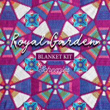 Scheepjes Royal Garden Blanket Kits