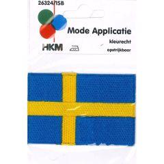 Applikation Flagge Schweden - 5 Stück