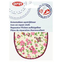 Opry Knie-Flicken zum Aufbügeln Blume 11,5x9cm - 5Stk