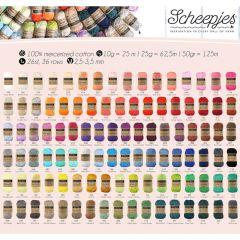 Scheepjes Catona Sortiment 5x50g - 103 Farben - 1Stk