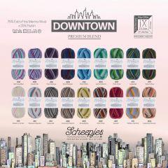 Scheepjes Downtown Sortiment 5x50g - 18 Farben - 1Stk