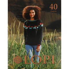 Lopi Buch Nr.40 Englisch - 1Stk