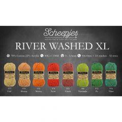 Scheepjes River Washed XL Sortiment 5x50g - 8 Farben - 1Stk