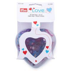 Prym Love Stoff Clips 2,6cm - 3x40Stk