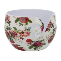 Scheepjes Yarn bowl Roses unzerbrechlich 13,5x9cm - 1Stk