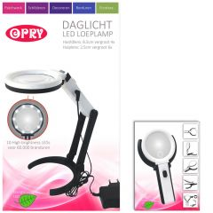 Opry Tageslicht LED Lupenlampe aufladbar 8,5cm Durchm. -1Stk