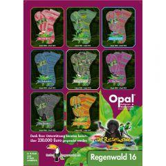 Opal Regenwald 16 Sortiment 4x150g - 8 Farben - 1Stk