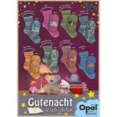 Opal Gutenachtgeschichten Sortiment 5x100g - 8 Farben - 1Stk