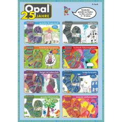 Opal 25 Jahre Sortiment 5x100g - 8 Farben - 1Stk