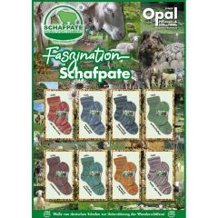 Opal Faszination Schafpate 4-fach Sort. 8x5x100g - 1Stk