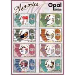Opal Memories 4-fach Sort. 5x100g - 8 Farben - 1Stk