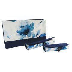 KnitPro Projekttasche mit 2 Etuis 29x6,5x17cm - 1Stk