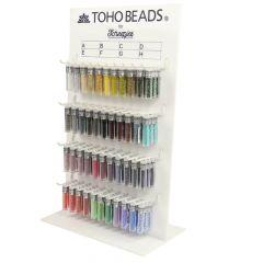 Toho Display Glasperlen rund 8-0 - 3x4g - 44 Farben - 1Stk