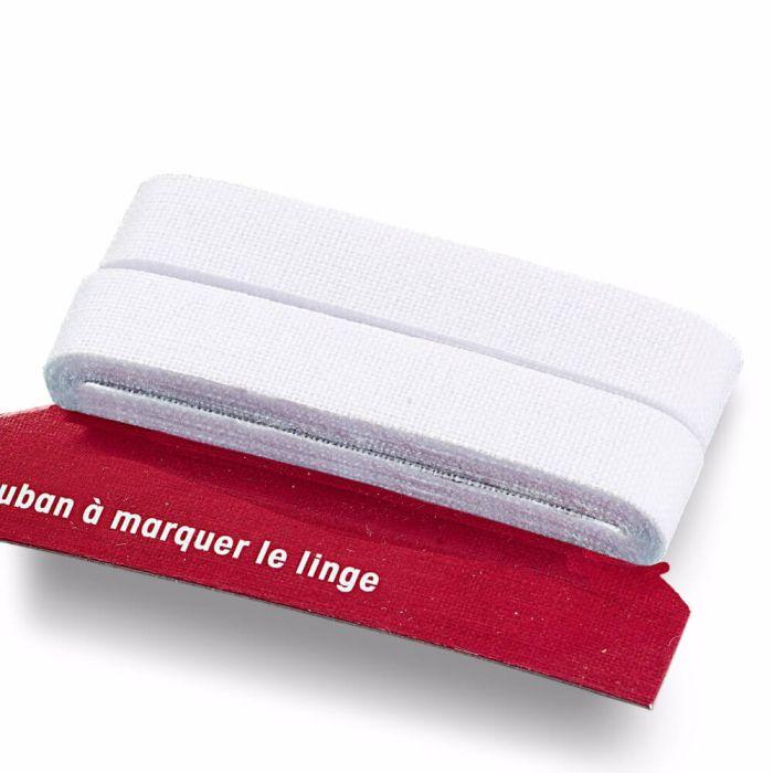 Prym W/äschemarkierband CO aufb/ügelbar 11 mm wei/ß Baumwolle