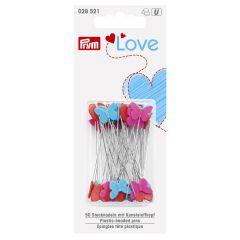 Prym Love Stecknadeln Kunststoff 50x0.60mm - 5x50Stk