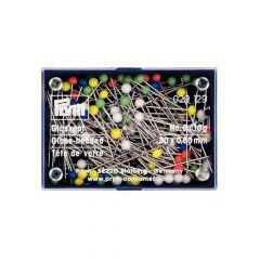 Prym Glaskopfstecknadeln silber 0,60 x 30 mm -10 Stück K
