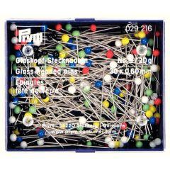 Prym Glaskopfnadeln 0,6x30mm silber Sortiment - 10Stk