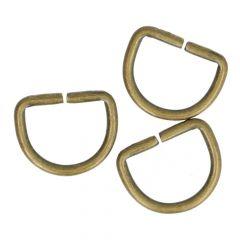 D-Ringe 15mm - 50 Stück
