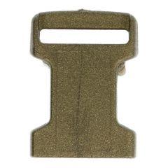 Steckschnalle 16mm Metall - 10 Stück