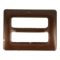 Schnallen bronze 15mm - 25 Stück - bronze