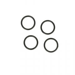 Ring 13mm transparent, schwarz und weiß - 100Stk