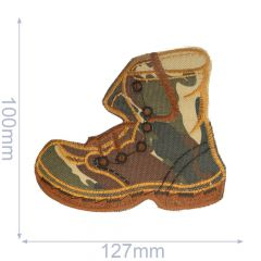 Applikation Schuhe - 5Stk