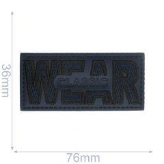Label Wear Classic Rechteck - 5Stk