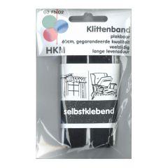 Klettband zum Aufkleben 60cm - 5 Stück