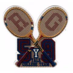 HKM Applikation Tennis Rackets - 5Stk