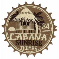 HKM Applikation Cabana - 5Stk