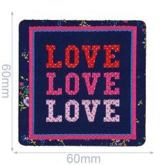 HKM Applikation Love Love Love - 5Stk