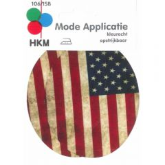 HKM Knieflicken USA 85x105mm - 5Stk