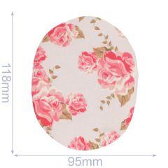 Knie-/Ellenbogenflicken Blumen - 5 Stück