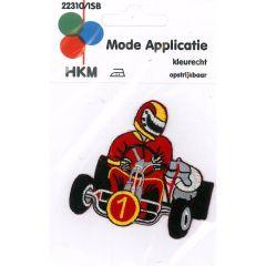 Applikation Gocart Nr.1 - 5 Stück