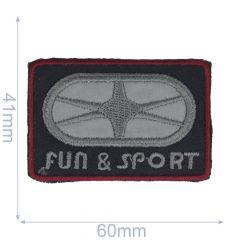 Applikation Fun & Sport reflektierend- 5 Stück