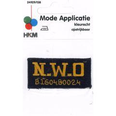 Applikation N.W.O. - 5 Stück