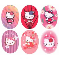Applikation Hello Kitty Sortiment - 6st