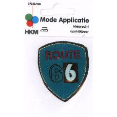 HKM Applikation Route 66 - 5Stk