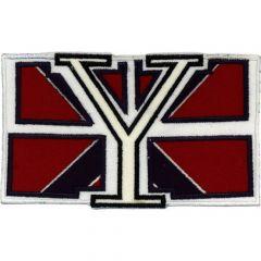 "Applikation Flagge ""Y"" - 5 Stück"