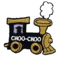 Applikation Lokomotive - 5 Stück