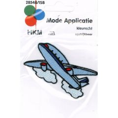 Applikation Flugzeug - 5 Stück