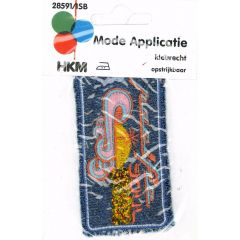 Applikation Pacific Jeans - 5 Stück