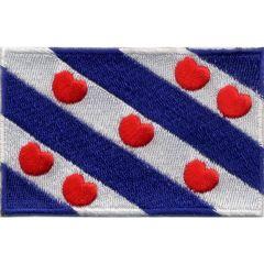Applikation Flagge Friesland - 5 Stück