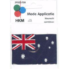 Applikation Flagge Australien - 5 Stück