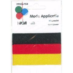 Applikation Flagge Deutschland - 5 Stück