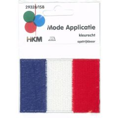 Applikation Flagge Frankreich - 5 Stück