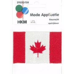 Applikation Flagge Kanada - 5 Stück
