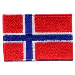 Applikation Flagge Norwegen - 5 Stück