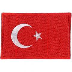Applikation Flagge Türkei - 5 Stück