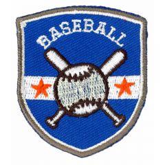 Applikation Baseball - 5 Stück